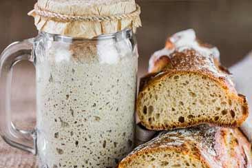 бездрожжевая закваска для хлеба travart.ru