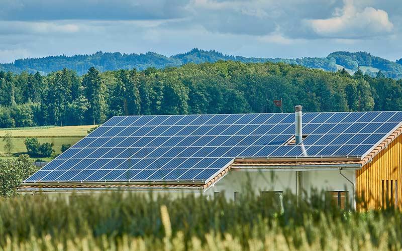 Фотоэлектрическая солнечная панель