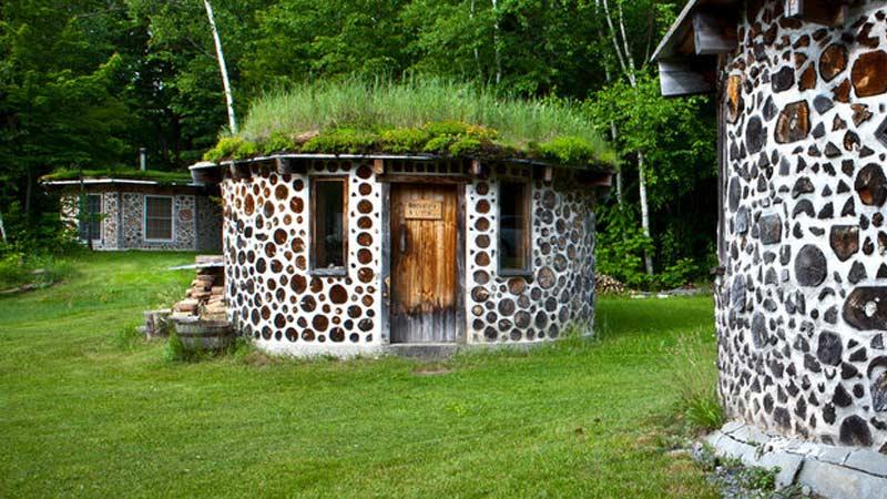 Строительство дома из глиночурки