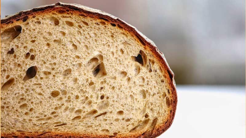 Бездрожжевой хлеб на закваске и хмеле