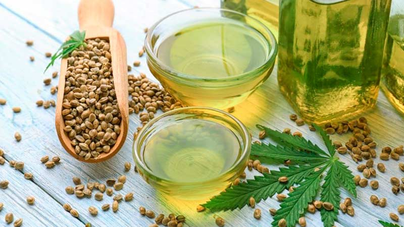 Конопляное масло и семена Траварт