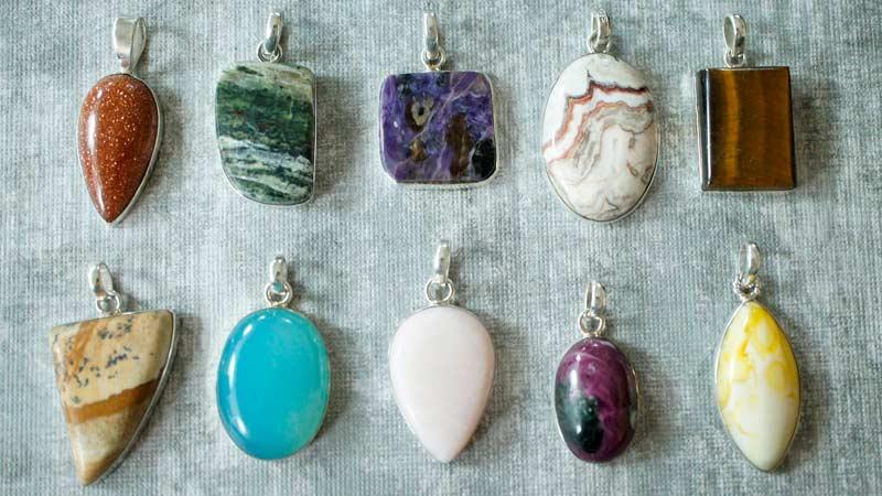 Натуральные камни оберег