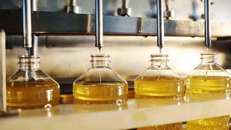 процесс производства растительного масла