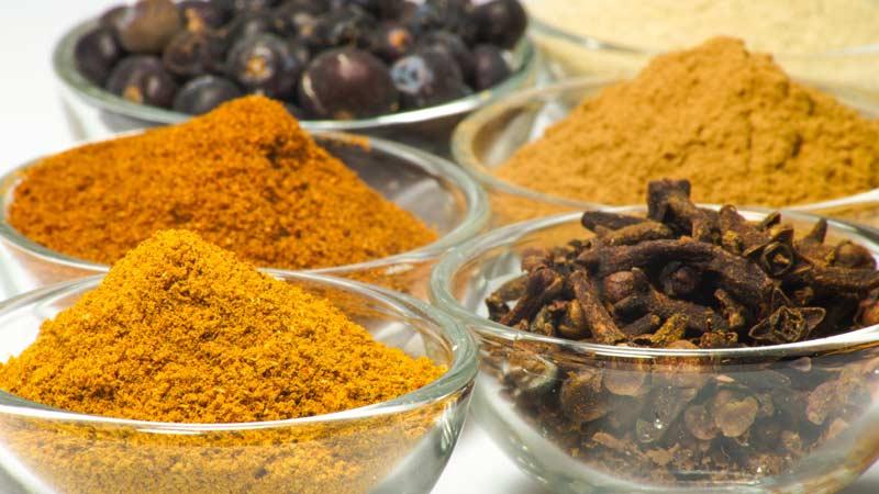 Ингредиенты для приправы 5 специй