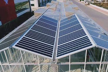 Теплица на солнечных батареях