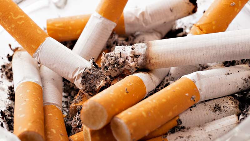 Вред сигарет - Траварт